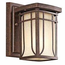 arts and crafts mission style wall lighting fixtures for sale ebay rh ebay com