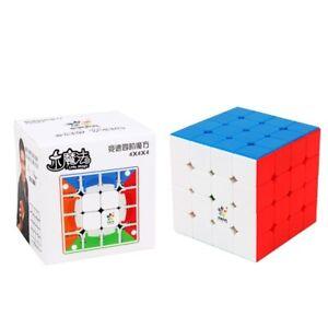 YuXin Little 4x4x4 M Magnetic Speed Magic Cube Stickerless Twist Puzzle Kid Toys