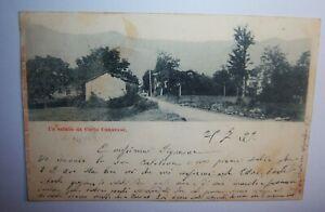 C811 CARTOLINA VIAGGIATA 1899 CORIO CANAVESE