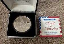 COINS OF AMERICA 1 OUNCE SILVER SPIRIT OF AMERICA  COIN  2nd EDITION