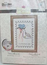 Bucilla Plaid Counted Cross Stitch Kit - Corinthians Wedding Dove with Bouquet