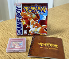 Nintendo Gameboy Pokemon Gotta Catch 'em All Red Version Video Game w/ Box