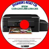 EPSON L110 L210 L300 L350, L355 WASTE INK PAD COUNTER ENGINEERS RESET PCCD NEW