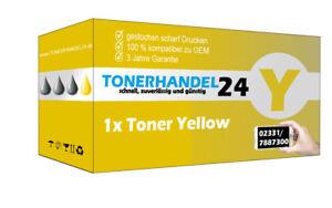 1x Toner Yellow kompatibel f. SAMSUNG CLT-Y504 Xpress C1860 fw CLX 4100