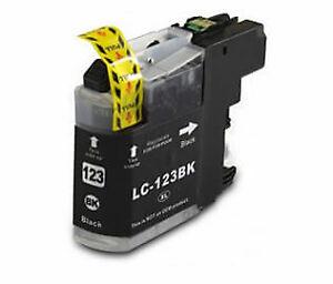 Compatible Brother LC-123BK Black Inkjet Cartridge