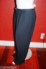 $265 GIANFRANCO  FERRE FORMA WOMEN  PANTS BLACK MODEL # 5010030 RAYON BLEND 20