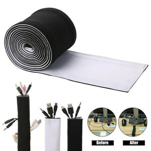 Wire Hide Storage Safety Protection Cover Neoprene Waterproof Sleeve Organizer