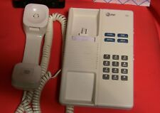 AT&T Feature 700 Corded Wall Mount Desk Telephone Hearing Aid Compatible