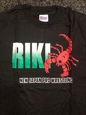 New Vintage NJPW Riki Choshu Large T Shirt WCW