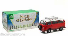 GREENLIGHT 1973 VOLKSWAGEN TYPE 2 BUS FIELD OF DREAMS MOVIE (1989) 1/18 CAR19010