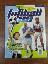 ALBUM FOOTBALL PANINI DEUTSCHLAND GERMANY BUNDESLIGA FUSSBALL 1999 99