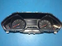 2014 Peugeot 208 E137-HW-F2 Speedometer Clock Cluster