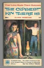 The Closest Kin There Is by Clara Winston PB '58 Eagle Books Free S/H