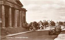 Town Hall Chipping Norton Motor Car unused RP old pc 1938 Valentines