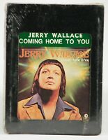 Vintage NOS 8 Track Tape UNTESTED Jerry Wallace Coming Home To You 1975 M8H-4995