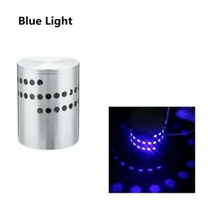 RGB Spiral Hole LED Wall Light Effect Wall Lamp With Remote Controller Colorful