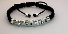 Name Personalised Shambala Fashion Bracelet Perfect Gift Mum Dad Kids