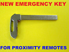 NEW Replacement Emergency Key Insert For 2014 - 2016 Smart Remote PROX HYQ1AA