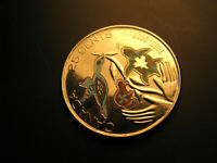 Canada 150 Years Hope For A Green Future  coloured 25 Cent Coin.