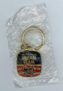 1992 DREAM TEAM USA World Champs key chain NBA Basketball Michael Jordan rare