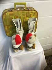 Womens Roller Skates Size 7 Lace Up. VintageChicago 5. Used With Original Case