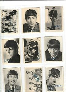 THE BEATLES (1st Series) Full Set 60 A&BC Trade Gum Cards 1964 abc first
