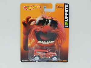 1:64 1934 Ford Sedan Delivery - The Muppets - Made in Thailand Hot Wheels BDR86