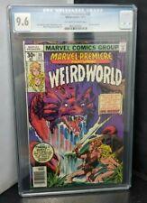 Marvel Premiere #38 Marvel Comics 1977 First Weirdworld CGC Graded 9.6