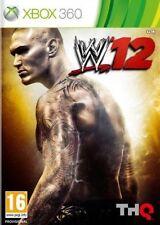 Xbox 360-Wwe'12 (2012) ** nuevo Y Sellado ** existencias oficiales del Reino Unido