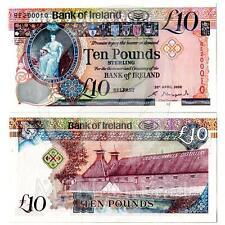 """2008 * Banconota Irlanda del Nord 10 Pounds """"Hibernia - Bushmills Distillery"""""""