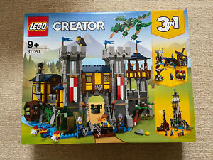 BRAND NEW LEGO 31120 Medieval Castle | Creator 3-in-1 | Brand New