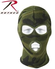 Camouflage Winter Cold Weather Three Hole Acrylic Face Ski Mask Rothco 5596
