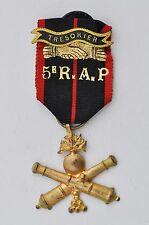 Médaille de la société des anciens du 5° R.A.P. 1940