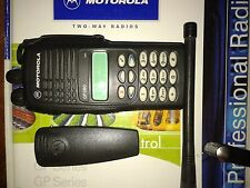 MOTOROLA GP380 VHF 136-174 MHz 5W + rapid charger PROFESSIONAL TWO WAY RADIO
