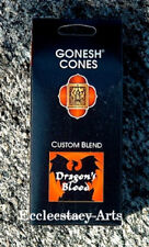 Gonesh Incense Cones Dragons Blood 25 High Charcoal Cones (Dragon's Blood) {:-)