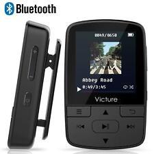 Portable Bluetooth MP3 Player 8GB With Headphone FM Radio Voice Recorder Black