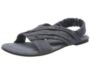 G-STAR RAW Damen Knot-marina Denim Flat Zehentrenner Sandalen Gr.36,neu