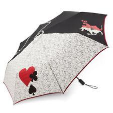 Vera Bradley Compact Umbrella Disney Alice in Wonderland Painting The Roses Red