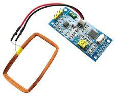 125KHz EM4100 lector de tarjeta de identificación RFID Módulo Arduino Compatible + Llavero Chip 210B