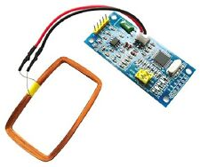 125KHz EM4100 ID Card Reader RFID Module Arduino compatible + keychain CHIP 210B