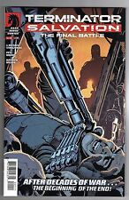 TERMINATOR SALVATION:THE FINAL BATTLE #1 - J. MICHAEL STRACZYNSKI STORY - 2013