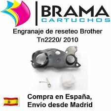1 x Engranaje de reseteo Non Oem Brother Tn2010 Tn-2010 DCP7055