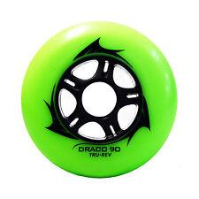 Trurev Draco 90mm Inline Skate Wheels for speed & Hockey. 85a
