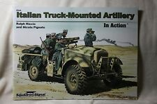 Italian Truck Mounted Artillery In Action Squadron Signal book # 2044 New