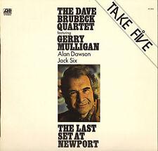 "DAVE BRUBECK ""THE LAST SET AT NEWPORT"" JAZZ LP 1972 ATLANTIC"