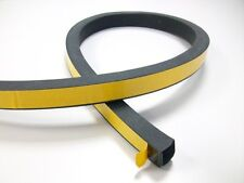 EPDM Vierkantprofil Rechteckprofil Moosgummiprofil Dichtband VKP10x15mm 4,72€//m
