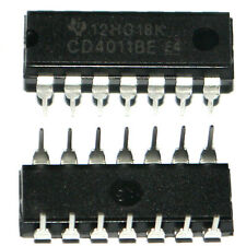 10pcs Nouveau CD4011BE DIP-14 HEF/CD/TL/HCF 4011 Quadruple 2-input NAND gate New