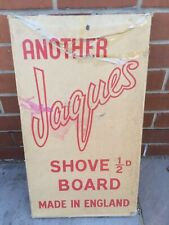 Vintage Jaques Shove Ha Penny Board Game with Box