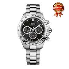 Hugo Boss 1512965 Gents 44mm Silver Steel Bracelet & Case Chronograph Date Watch