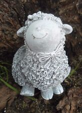 Latex smiling lamb Sheep Mold For Plaster or Concrete